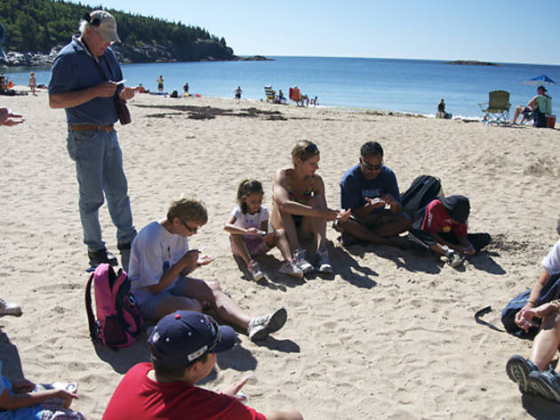 Family Nature Camp, College of the Atlantic