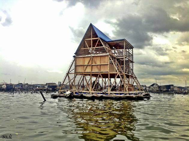 (Makoko Floating School, Lagos, Nigeria, by NLE. © Iwan Baan)