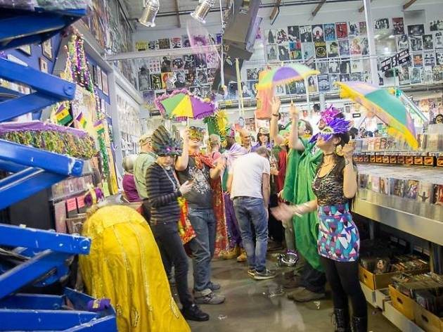 Fat Tuesday at Amoeba