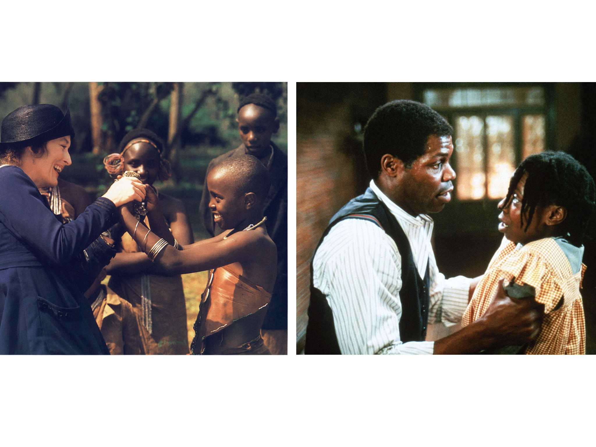 1985: Out of Africa vs The Color Purple