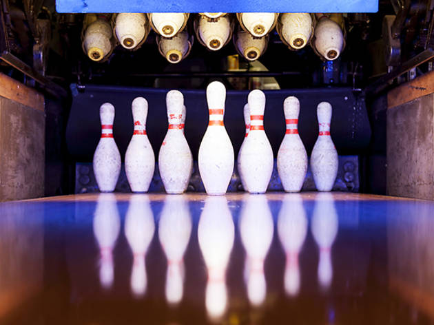 The best bowling alleys in the Bay