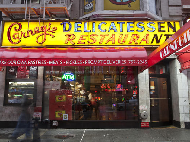 Carnegie Deli will be back for eight days with 99-cent sandwiches