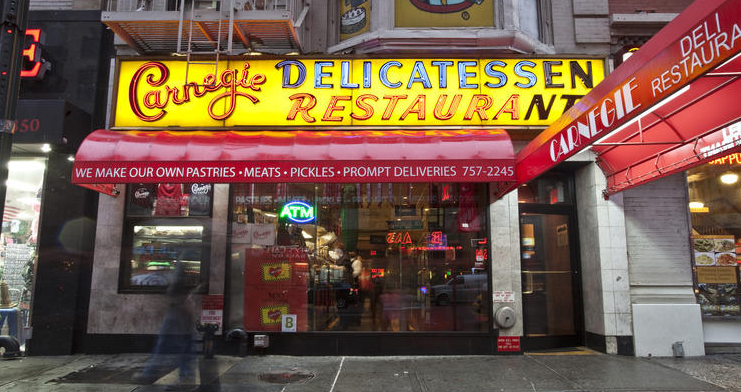 Carnegie Deli will re-open this year, claims Carnegie Deli