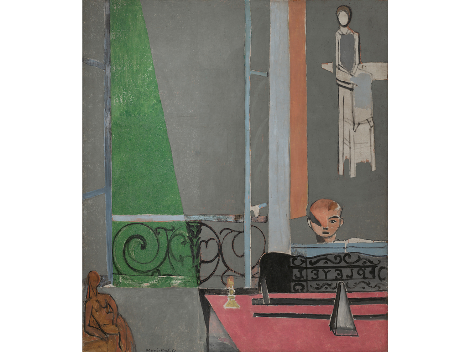Henri Matisse, The Piano Lesson (1916)