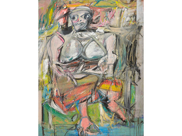 Willem de Kooning, Woman I (1950–52)