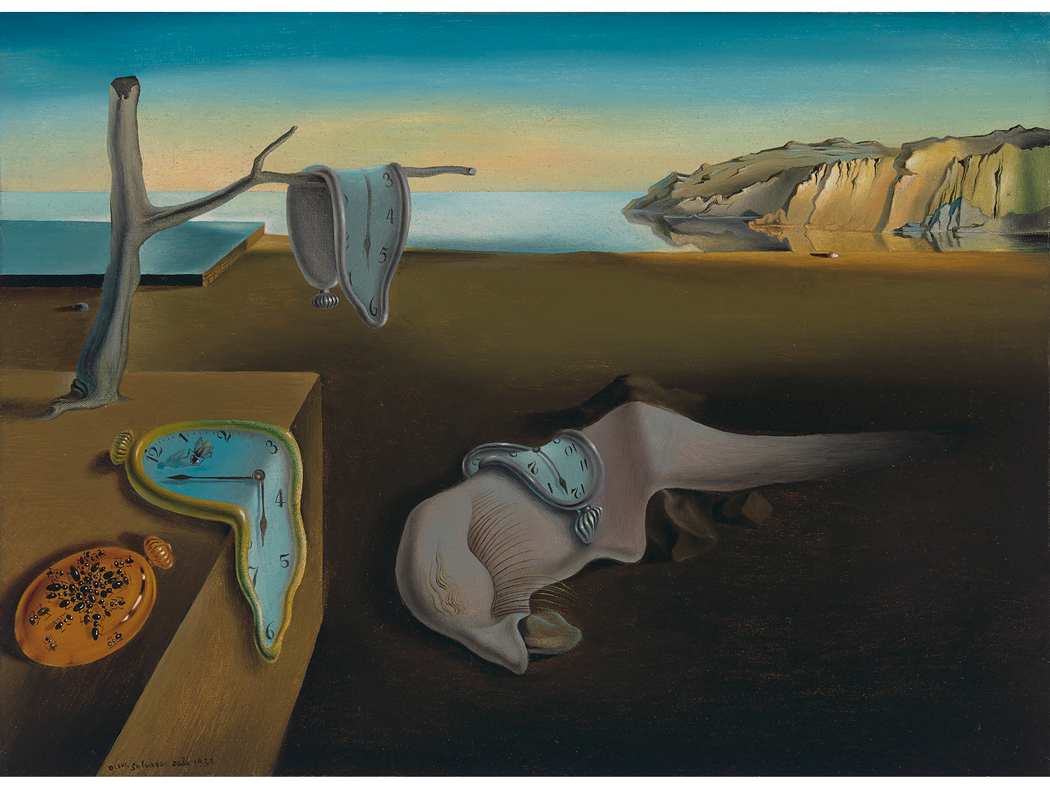 Salvador Dalì, The Persistence of Memory (1931)