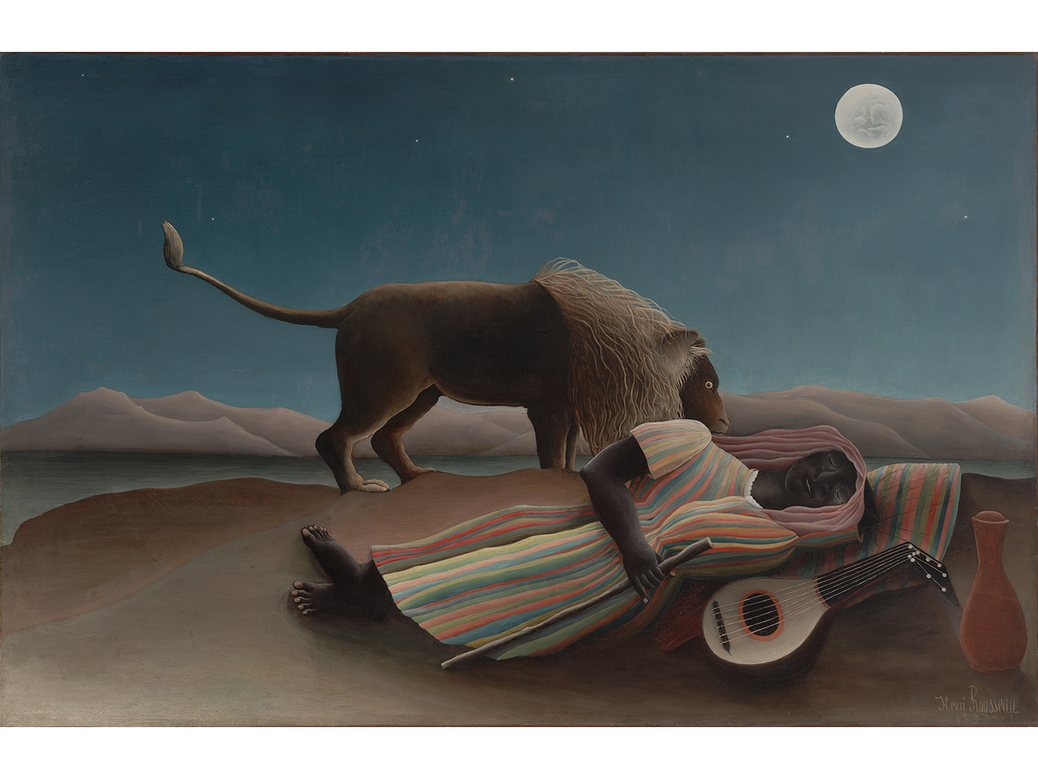 Henri Rousseau, The Sleeping Gypsy (1897)