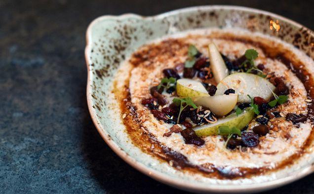 The amaranth porridge at Hammer and Tong 412
