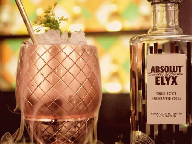 Singapore Cocktail Week: New Orleans Night @ Gibson Featuring Gareth Evans of Absolut Elyx