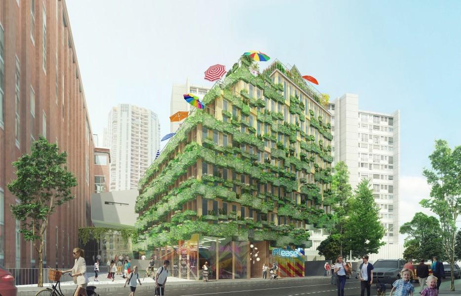 """Photos : les 22 projets qui vont """"réinventer Paris"""""""