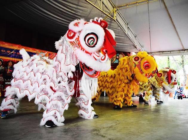 HuaXia Kong Yuan en la celebración del Año Nuevo Chino