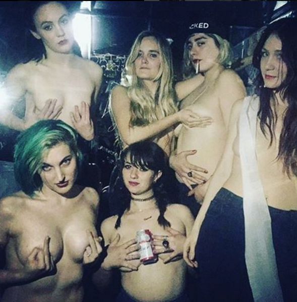 "Boobs of Bushwick #FreetheNipple with ""titty pub crawls"""