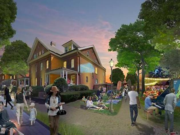 Governors Island may soon become a year-round destination