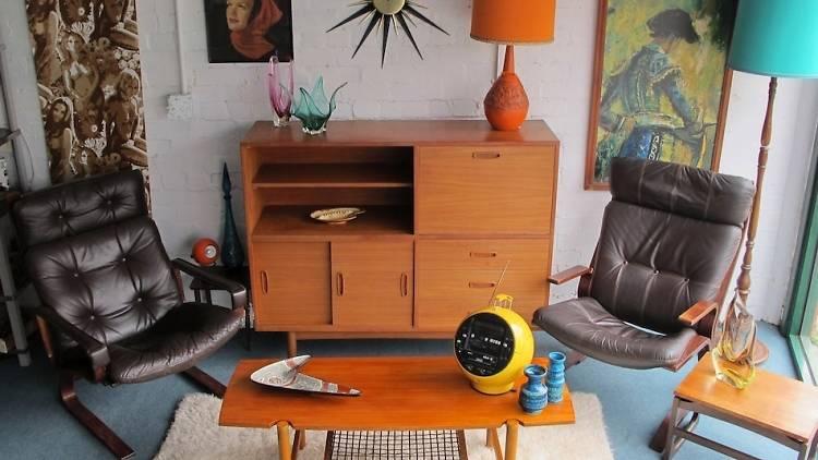 Vintage furniture at Model No. 143