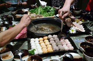 Yezi Chinese New Year set menu