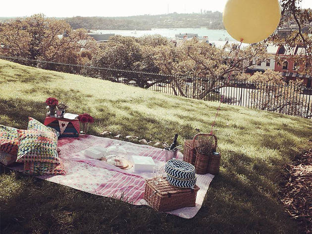 Pretty Picnics set on grass