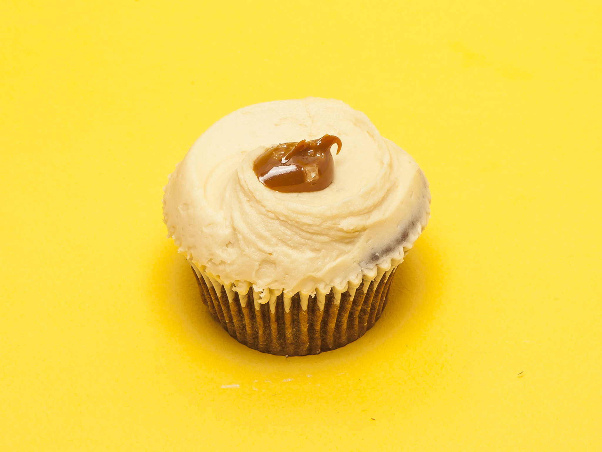 London's best cupcakes, Hummingbird Bakery, salted caramel cupcake
