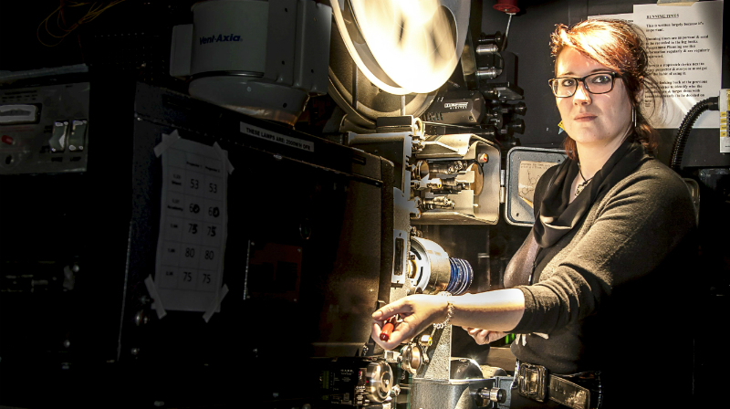 Quit your job, become a... projectionist
