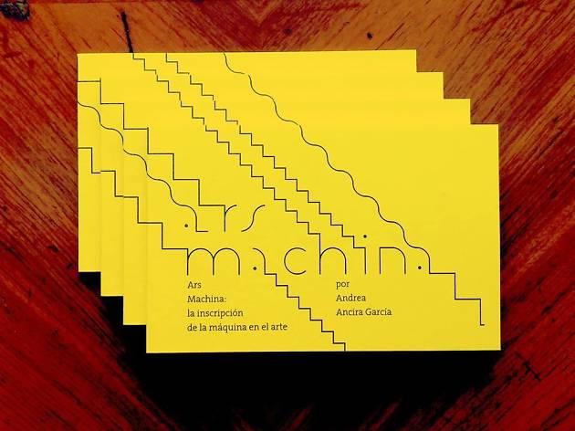 Presentación del libro Ars Machina en el Centro de Cultura Digital