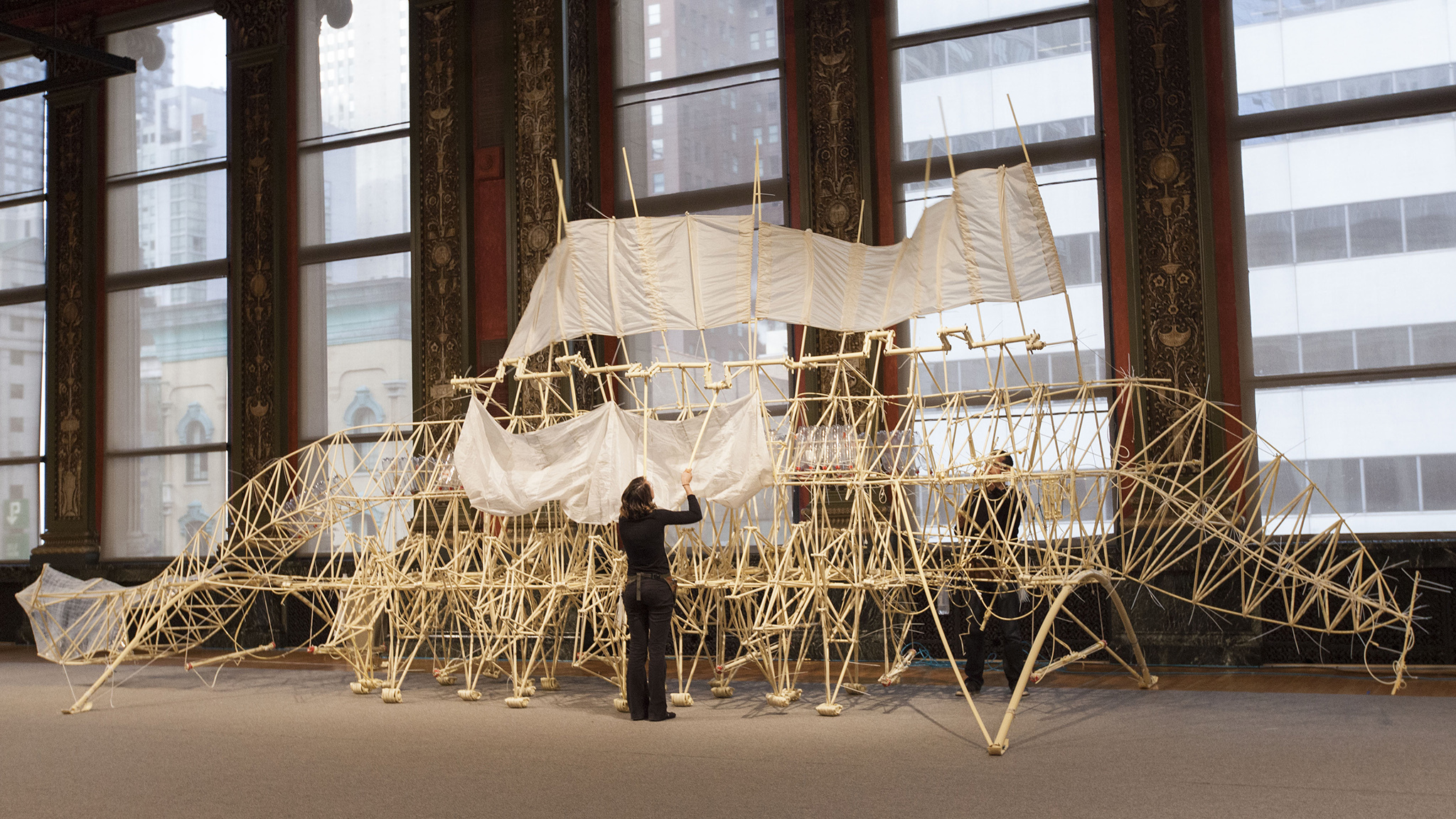 """Strandbeest: The Dream Machines of Theo Jansen"""