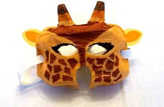 Tuto masque girafe