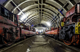 Work has begun on the Postal Museum (ie the home of the Mail Rail!)