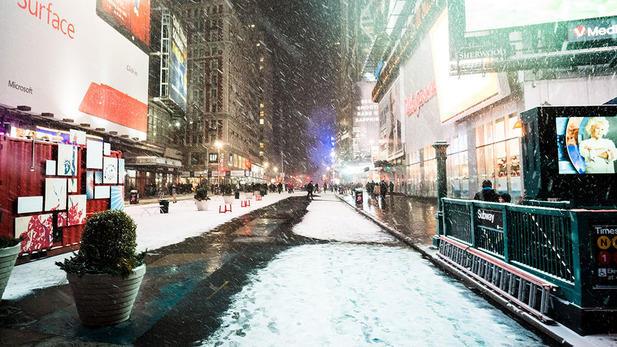 Travel Advisory in NYC issued by Mayor de Blasio through Wednesday
