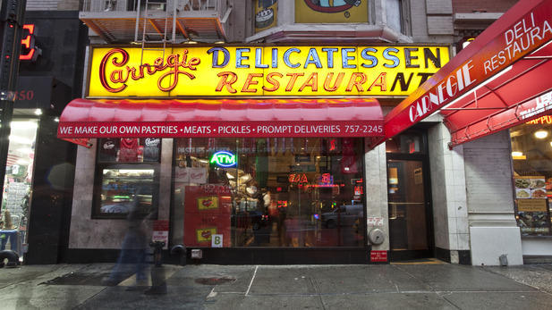 Carnegie Deli will reopen tomorrow after being closed for 10 months