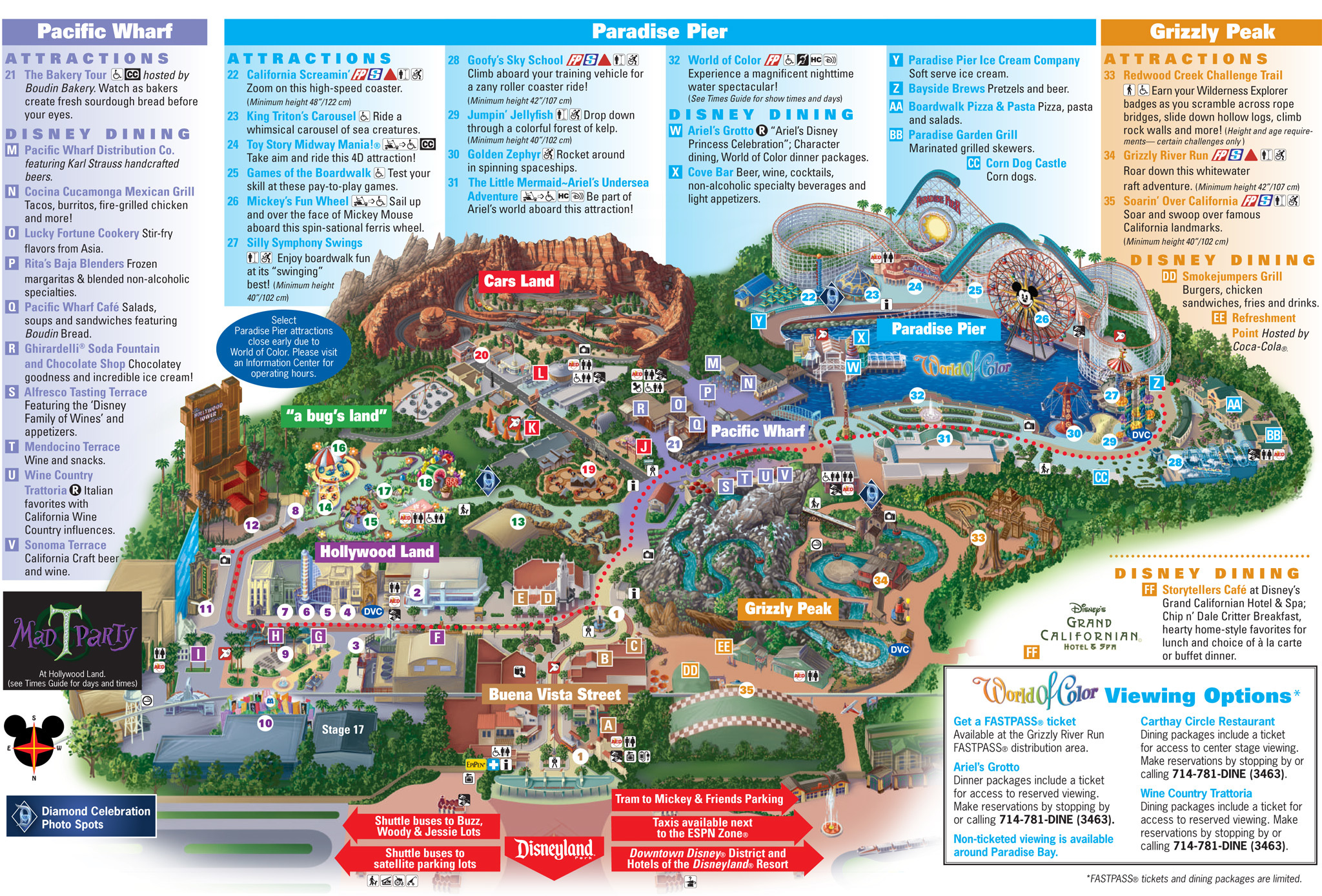 Heres A Reminder Of What Disney California Adventure Looked Like - Disney adventure