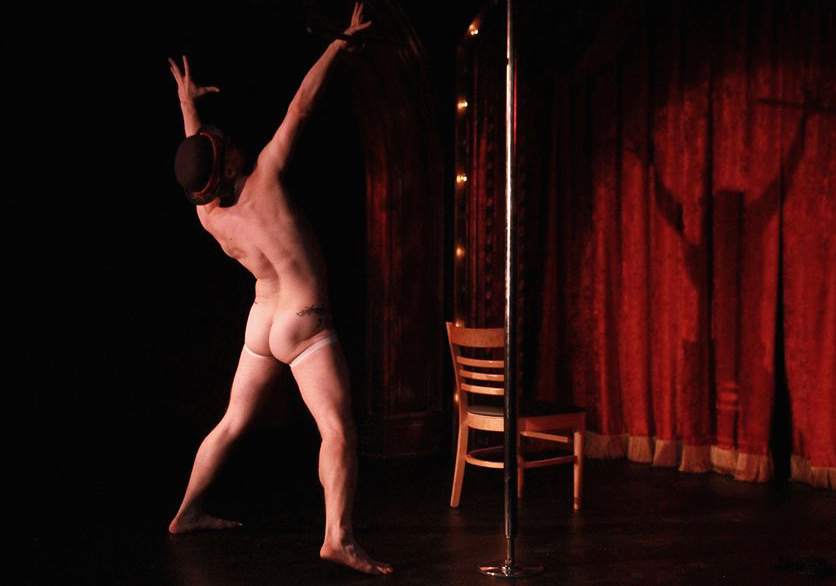 Enjoy some world-class burlesque on Valentine's Day