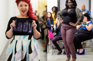 Body Positive runway show