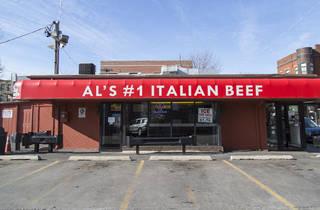Al's Italian Beef on Taylor St.