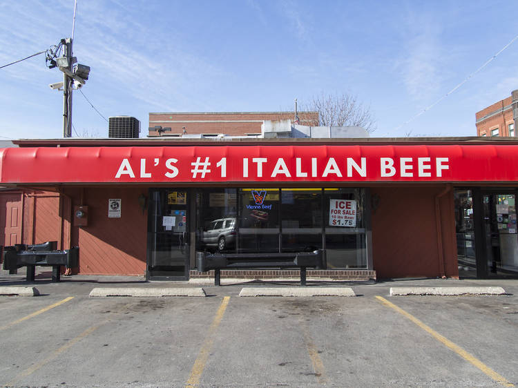 Fill your gut at Al's #1 Italian Beef