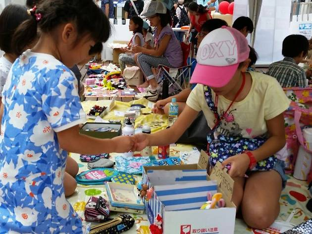 Teaching Kids About Money >> Mottainai Kids' Flea Market | Kids in Tokyo