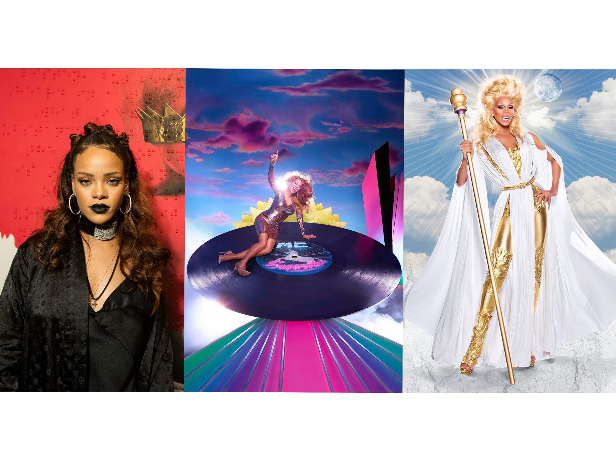 Rihanna vs Mariah vs RuPaul's Drag Race