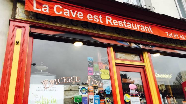 La Cave est restaurant  (© EP / Time Out Paris)