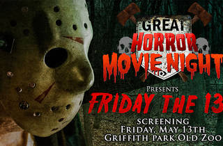 Great Horror Movie Night presents Friday the 13th screening