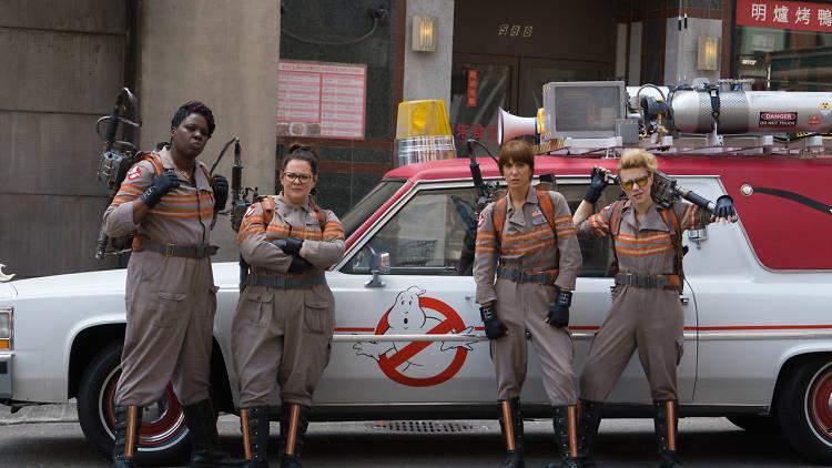 Ghostbusers (2016) Cast