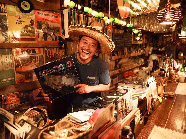 Best music bars in Tokyo