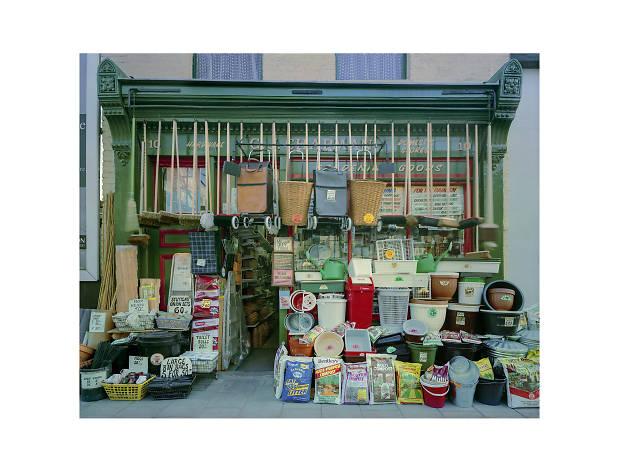 Jim Dow: 'Façade of Chapman's Hardware, Islington, London' 1993. © Courtesy of the Artist