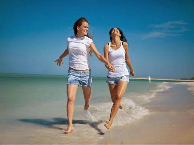 lesbianas en vacaciones