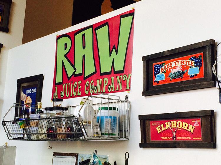 RAW: A Juice Bar
