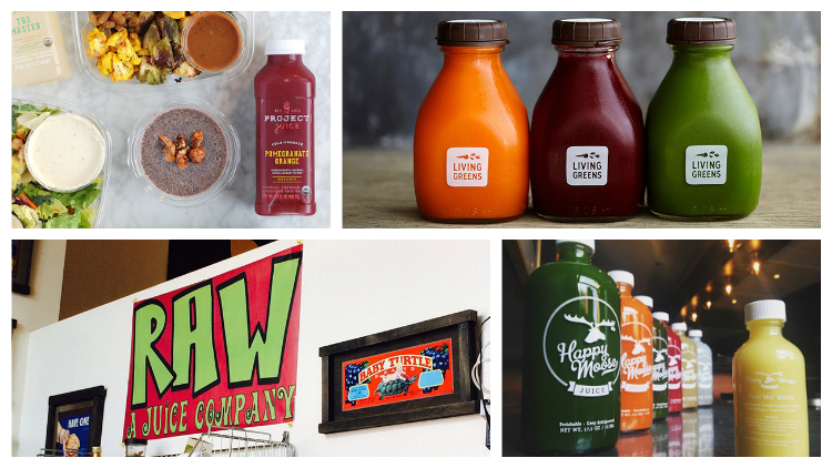 The best juice bar shops in the Bay