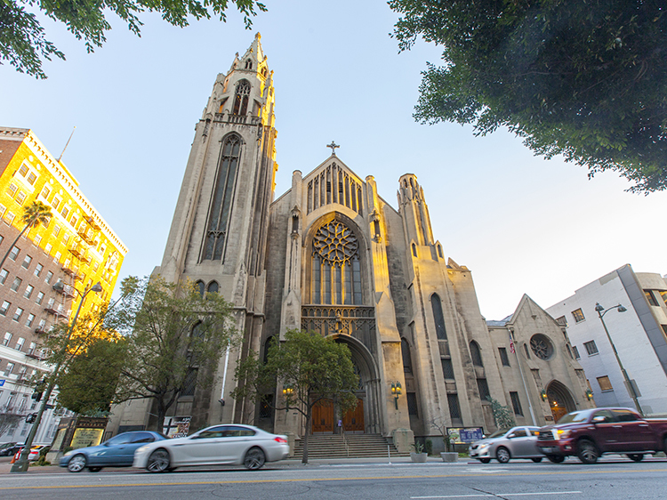 The most beautiful Los Angeles churches and temples