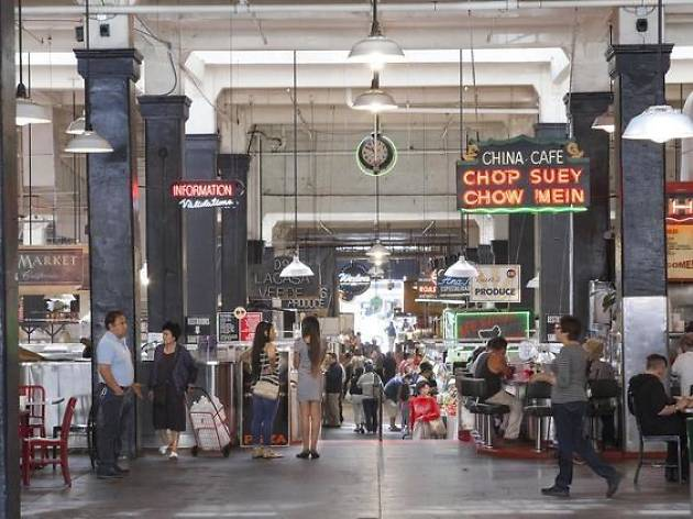 Enjoy open-air dining at Grand Central Market