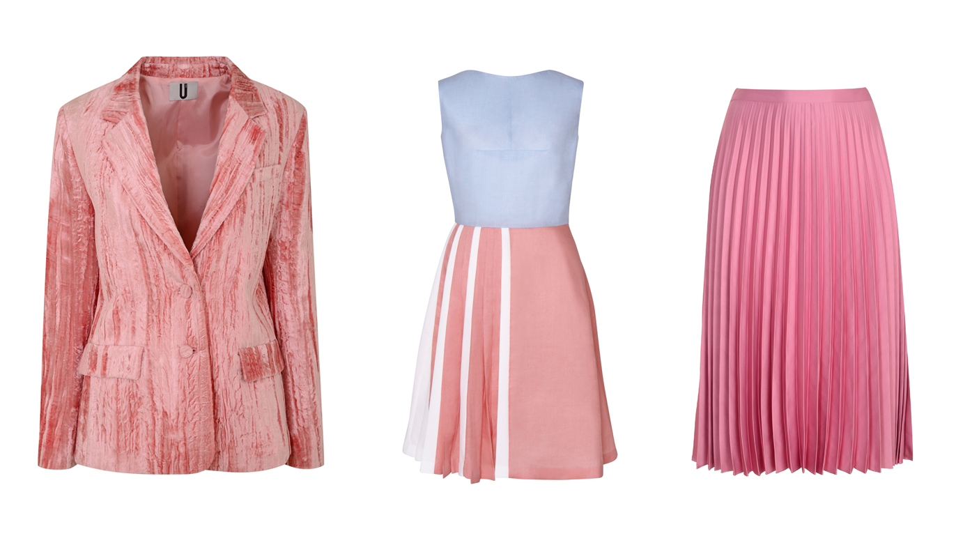 The best pink clothes and accessories this season