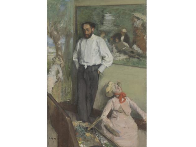 Retrato de Henri Michel-Lévy, d'Edgar Degas (ca. 1878)