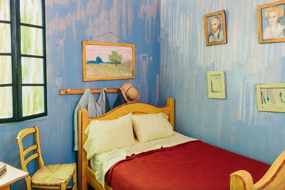 Une nuit dans le lit de van Gogh