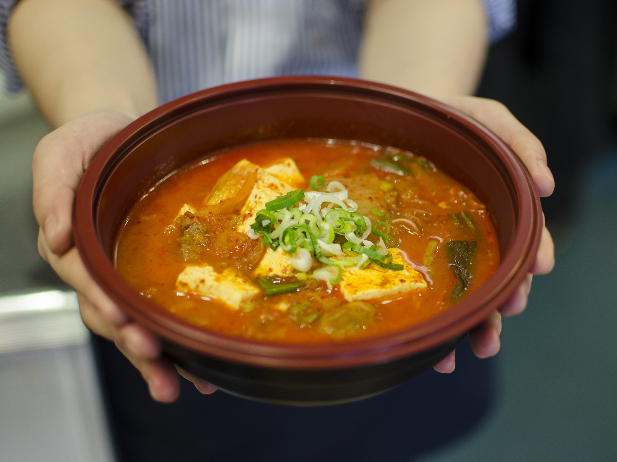 Soondooboo jjigae at Wellbeing Kitchen