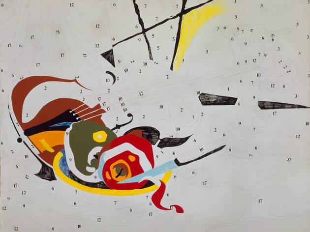 Do It Yourself (Violin), Andy Warhol